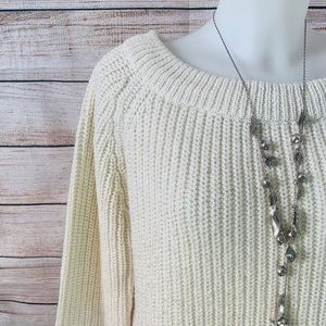 Very Thick Wool Sparkly Sweater size Lg - CL-02